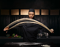 Campaign shoot for Nissin Noodles
