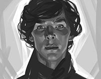 Sherlock. A series of portraits.