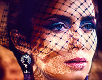 In Style Magazine - Emily Blunt -