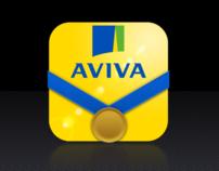 Aviva Athletics iPhone App