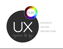 UX PLAY - Experience the Apps - LOGO Design