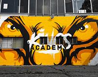 Kings Academy Gym Mural