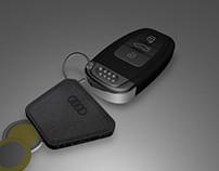 3D Model AUDI Key Ring