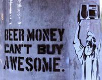Alcohol Awareness Street Art