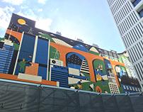 mural for skanska | 2016