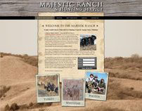 Majestic Ranch - Web Design and Development