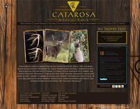 Catarosa Ranch - Logo Design, Web Design and Brochure