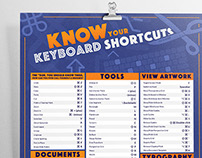 Adobe Illustrator Keyboard Shortcuts | Poster Design