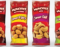 Frito-Lay Munchies Nuts Product Line