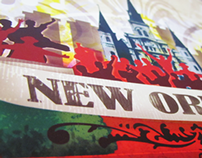 Donations to New Orleans Poster
