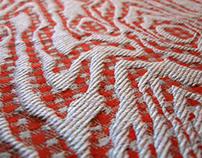 Wood Grain Jacquard Tablecloth