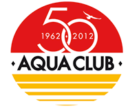 Logo 50 years Aqua club