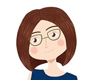 My sister's portrait