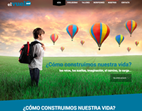 Wordpress Web Application elVueloAzul