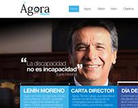 Proposal for website design - Agora Magazine