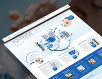 Aquaphor Website UI Design