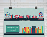 I CAN READ Academy  Poster Design