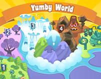 Yumby Toss iOS/android game