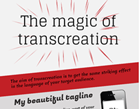 "Infographic ""The magic of transcreation"""