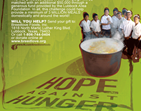 Hope Against Hunger InfoGraphic Poster