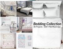 Bed Linens Mockup Bundle