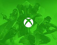 Xbox One X UI Concept