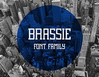 Brassie Regular // Free Font