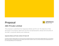 Project Proposal Template designed in MS Word