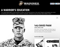 MARINES: A Warrior's Education