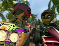 """""""PS3 Launch"""" Mod Nation Racers - Sony Playstation"""
