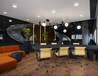 Meeting Rooms in Odnoklassniki Office