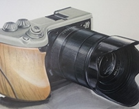 PHOTO CAMERA DRAWING