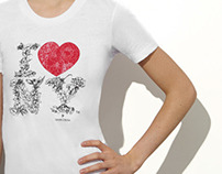 I LOVE NEW YORK T-SHIRT by MARCHESA