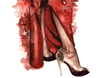 Fashion illustrations-miscellaneous