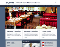 University Events and Conference Services Website