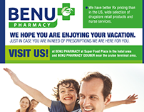 Benu Pharmacy Aruba Magazine Ad