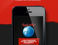 App Rock in Rio - Proposta