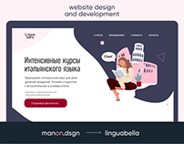 Italian Language school | Website