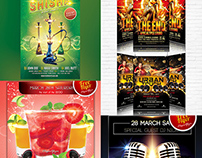 31 Free PSD Party & Club Flyer Templates