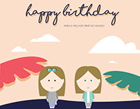 Happy Birthday | Postcard