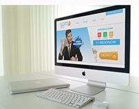 Project for http://lotto-polska.pl | Logotyp & Layout