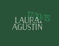 Laura y Agustín