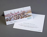 Новогодняя открытка для инвестиционной фирмы