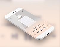 Daily UI No. 9 | Music Player