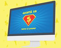 """""""Adoptă un Ș"""" campaign"""