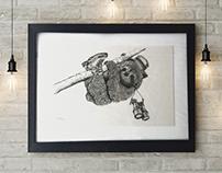 POINTILLISM - Adventurous Sloth