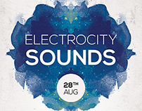 Electrocity Sounds Flyer