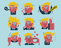Trump Stickerz for Apps