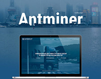 Antminer Opt - landing page