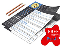 Free Resume Template Design
